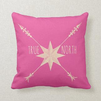 Almofada Travesseiros decorativos do norte verdadeiro