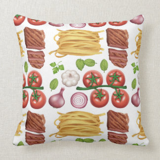 Almofada Travesseiros decorativos do teste padrão da massa