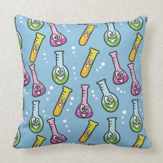 Almofada Travesseiros decorativos engraçados do teste