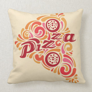 Almofada Travesseiros decorativos estilizados da pizza
