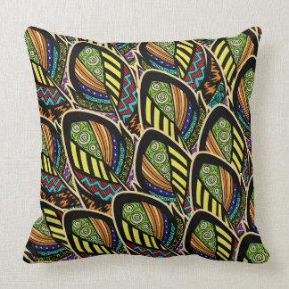 Almofada Travesseiros decorativos nativos do teste padrão