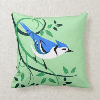 Almofada Travesseiros do amante de Jay azul