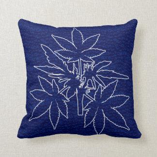 Almofada Travesseiros do Azul-Branco-Desenho de Bubs da