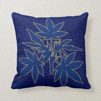 Almofada Travesseiros do Azul-Ouro-Desenho de Bubs da