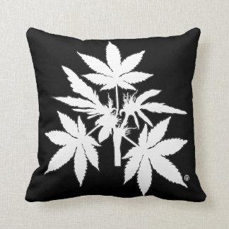 Almofada Travesseiros do Branco-Desenho de Bubs da árvore