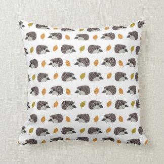 Almofada Travesseiros do teste padrão do ouriço