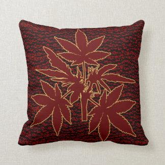 Almofada Travesseiros do Vermelho-Ouro-Desenho de Bubs da