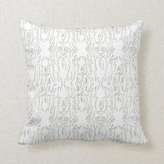 Almofada Travesseiros originais do branco do desenhista do