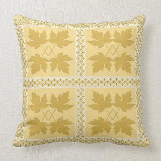 Almofada Travesseiros populares da natureza branca do ouro