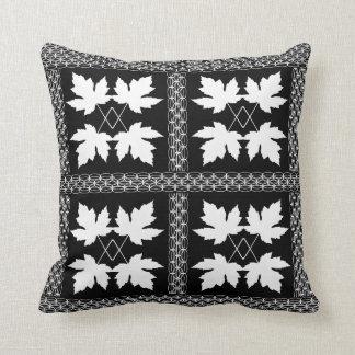 Almofada Travesseiros populares da natureza preta branca da