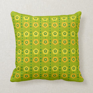 Almofada Travesseiros verdes vibrantes
