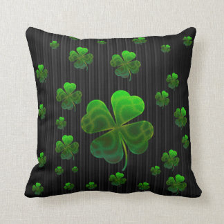 Almofada Trevos afortunados verdes bonitos