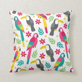 Almofada Tropical birds.