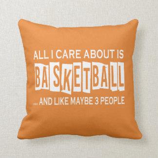 Almofada Tudo cuidado de I é aproximadamente basquetebol