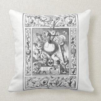 Almofada Um mundo do travesseiro da vaidade