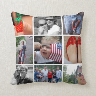 Almofada Um travesseiro da foto da nação 9