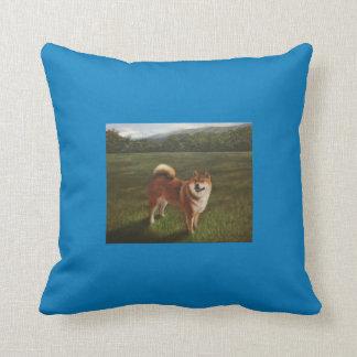 Almofada um travesseiro do cão do urso