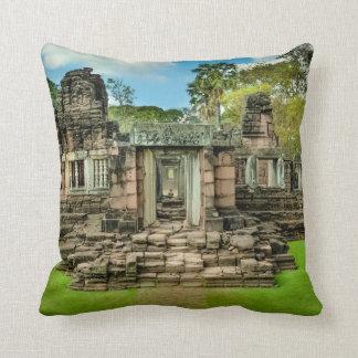 Almofada UNESCO de Cambodia do templo de Angkor Wat