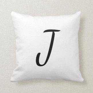 Almofada Único travesseiro customizável da letra