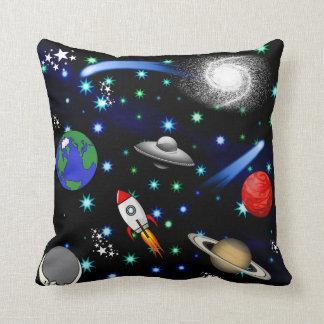Almofada Universo da galáxia - planetas, estrelas, cometas,