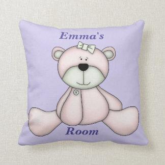 Almofada Urso de ursinho bonito do bebê do travesseiro das