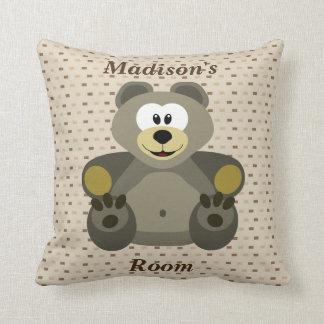 Almofada Urso de ursinho bonito do travesseiro das crianças