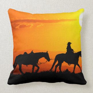 Almofada Vaqueiro-Vaqueiro-texas-ocidental-país ocidental
