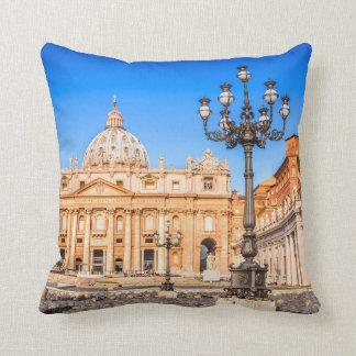 Almofada Vaticano do travesseiro
