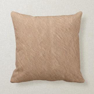 Almofada Vegan chique minimalista de superfície de couro de