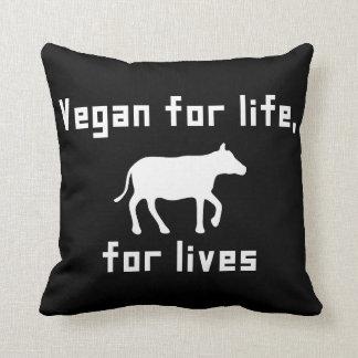 Almofada Vegan para a vida