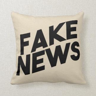 Almofada Verdade elegante do cargo da notícia falsificada