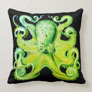Almofada Verde limão náutico do travesseiro da decoração do