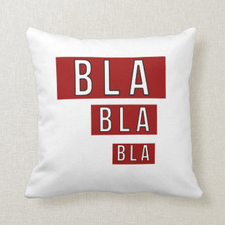 Almofada Vermelho de Bla Bla Bla