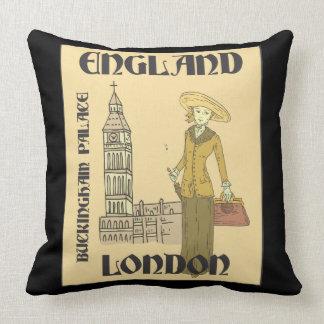 Almofada Viajante Inglaterra Londres Buckingham Big Ben do