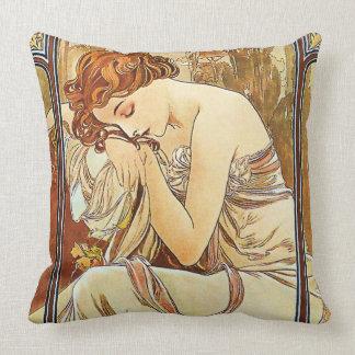 Almofada Vintage Nouveau do resto da noite por Alphonse