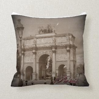 Almofada Vintage Paris: Arco do Triunfo