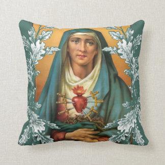 Almofada Virgem Maria dolorosa & imaculada