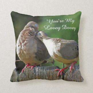 Almofada Você é minha pomba bonita da manhã de Dovey