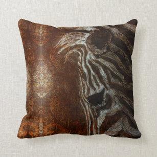 53733248bf8dfd Almofada Zebra africana no branco