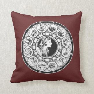 """Almofada Zodíaco - 16"""" x 16"""" travesseiro"""