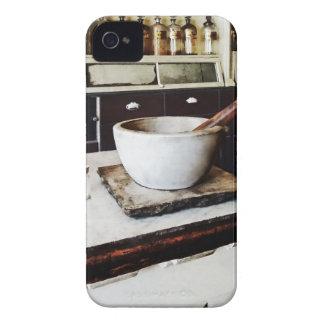 Almofariz e pilão no Apothecary Capa iPhone 4 Case-Mate