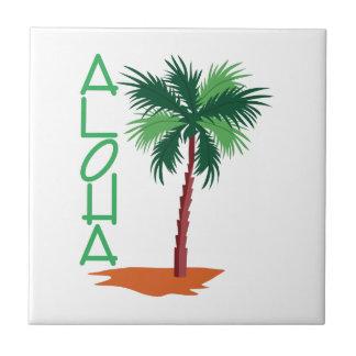 Aloha Azulejo Quadrado Pequeno