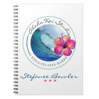 Aloha caderno do estúdio de Kai
