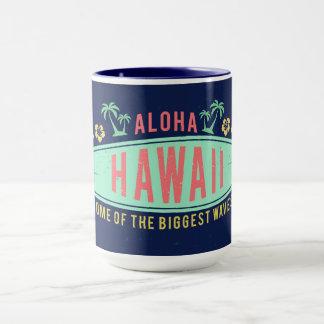 Aloha canecas conhecidas feitas sob encomenda do