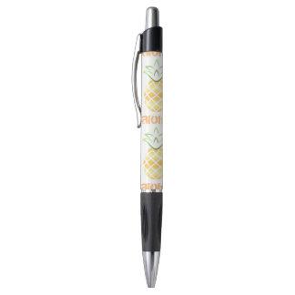 aloha caneta da escrita do abacaxi