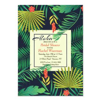 Aloha chá de panela tropical do convite