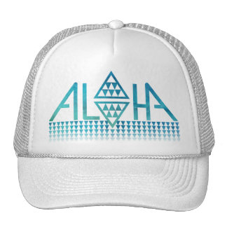 Aloha chapéu do camionista do Tapa do diamante Boné