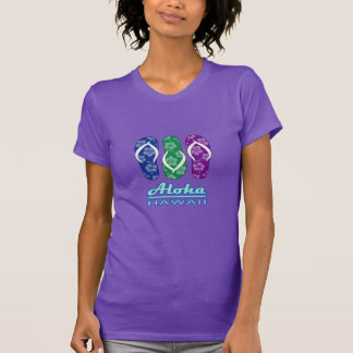 ALOHA - chinelos de Havaí T-shirt
