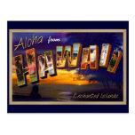 Aloha de Havaí Cartão Postal