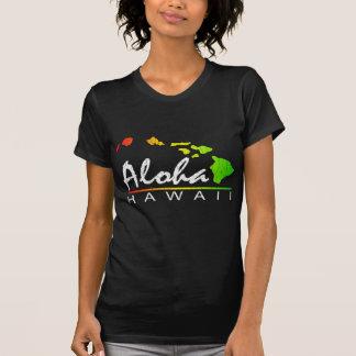 ALOHA Havaí (design afligido) T-shirts